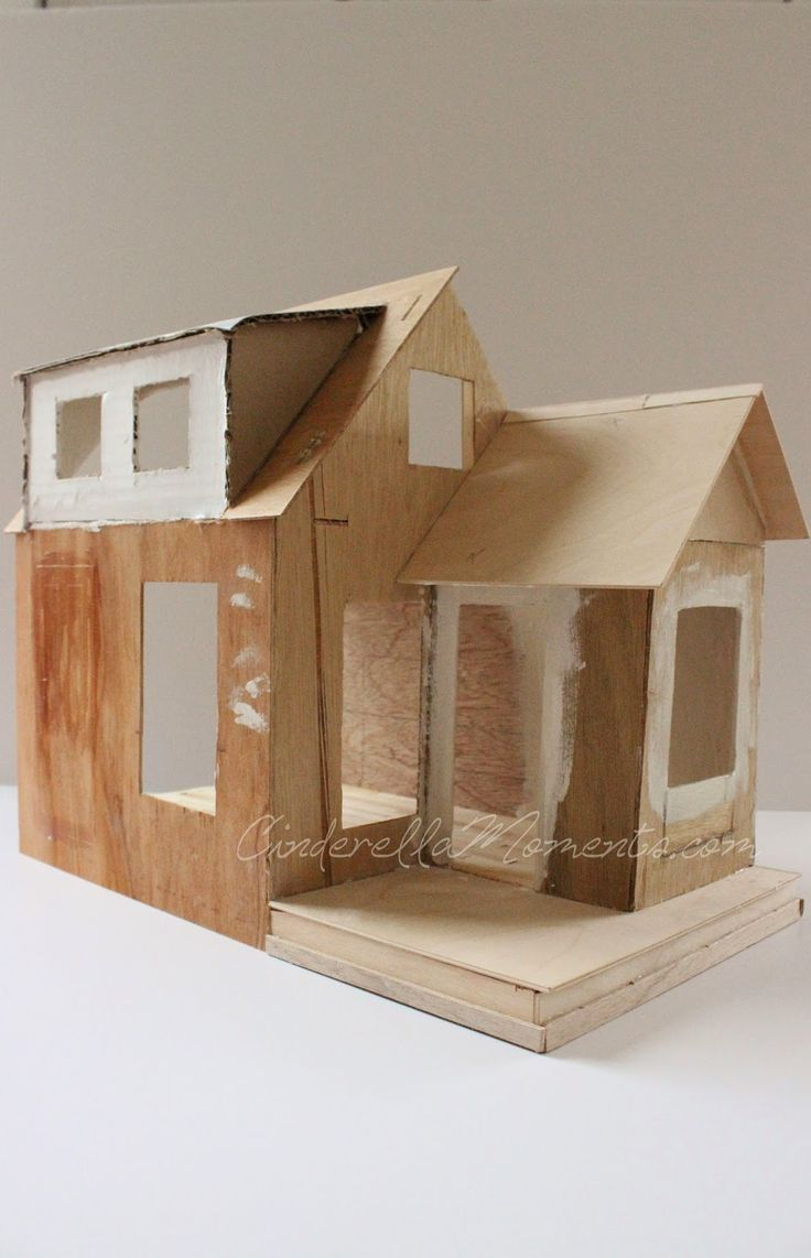 how to build a miniature house