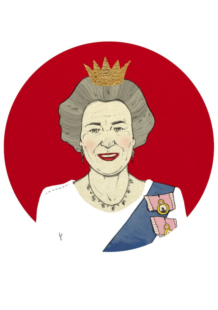 Queen Elisabeth by Magdalena Pankiewicz