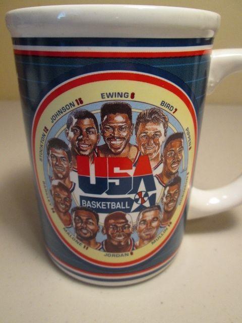 "USA Olympic Basketball 1992 Dream Team ""First Ten Chosen"" collectors mug cup #SportsImpressions #USA"