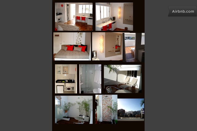 $2831 month. Awesome terrace, small apartment, decor pretty cute, no washer dryer. Doorman.  Located in Alberto de Campos Ipanema, corner of Rua Farme de Amoedo.  It is only 3 blocks from the Ipanema beach (7 minute walk),  and 2 blocks from the main shopping street of Ipanema and METRO.  Further from beach then rest of apartments.  much closer to Lagao and right up against the big parks. lots of good reviews.  all reviews say location is awesome. corner of gay street. ????