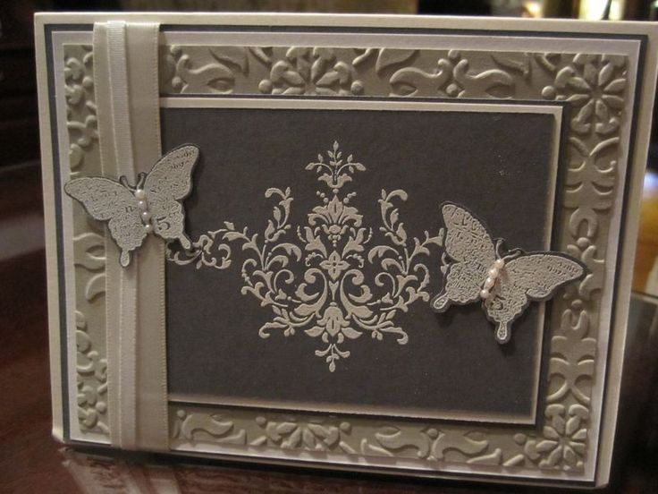 JRR thank you away using Stampin Up Bliss
