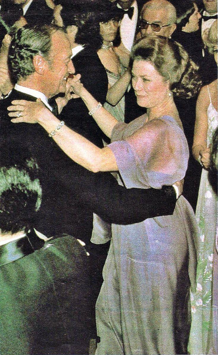 David Niven dances with Princess Grace of Monaco