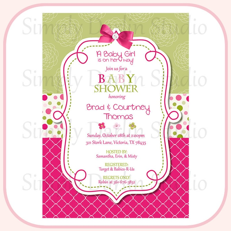 9 best Baby Shower images on Pinterest   Green baby showers, Baby ...