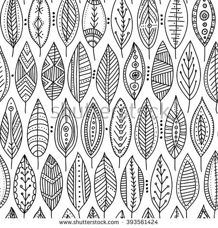 17 best images about ethnic color sheets on pinterest for Tribal pattern coloring pages