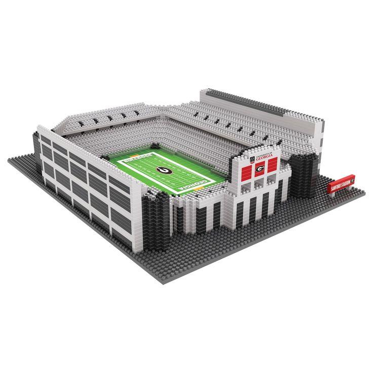 Bulldogs ncaa 3d brxlz stadium sanford stadium