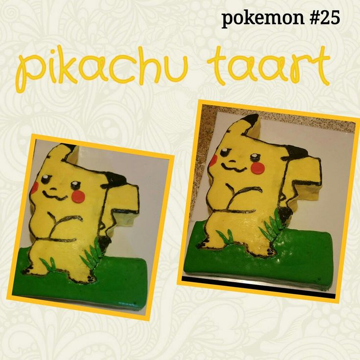 Pikachu taart