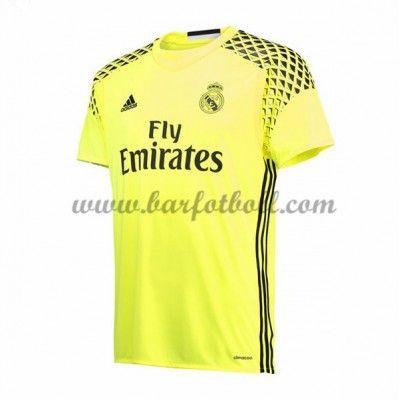 Real Madrid Fotbollströja 2016-17 Målvakt Borta Tröjor