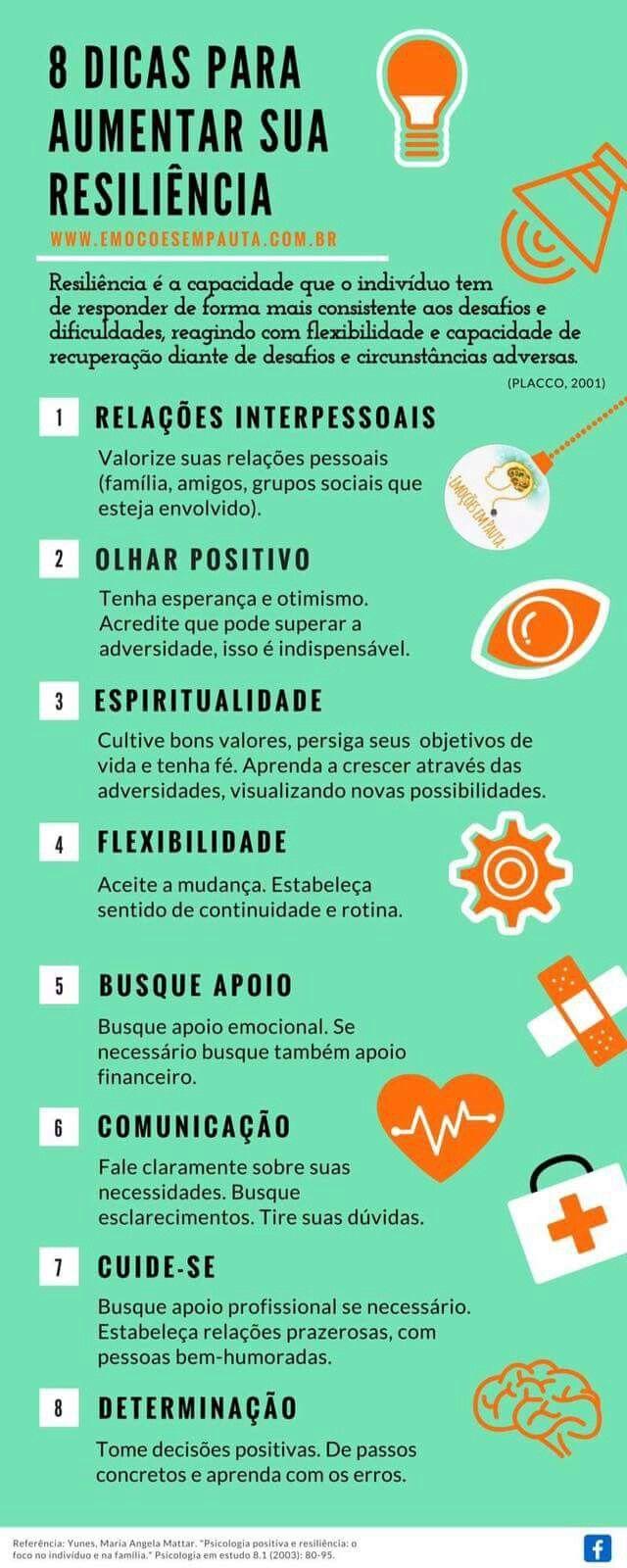 8 #dicas para aumentar a #resiliência