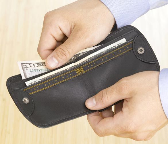 The one and only Taxi Wallet® - destined to be the best wallet you ever carried!