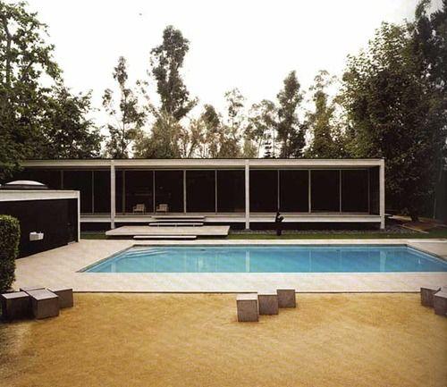 Rosen House 1961-63  architect/Craig Ellwood
