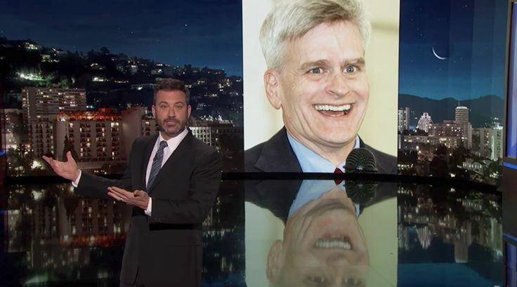 Jimmy Kimmel Accuses Bill Cassidy G.O.P. Senator Behind Health Bill of Lying