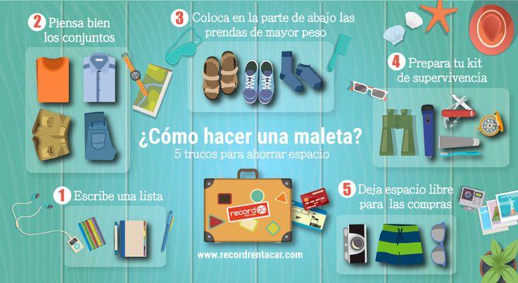 Image result for hacer la maleta infografia