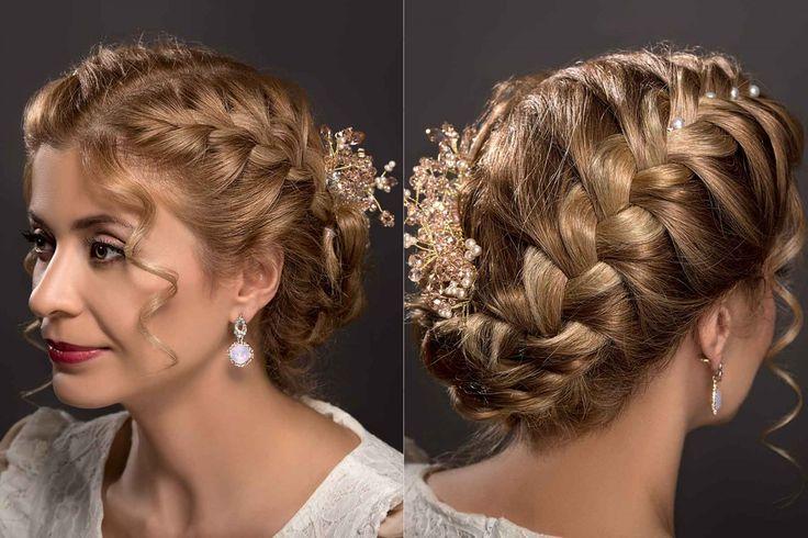 Calgary bridesmaid hairstyle