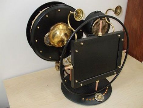 Not bad for a steampunk PC mod.