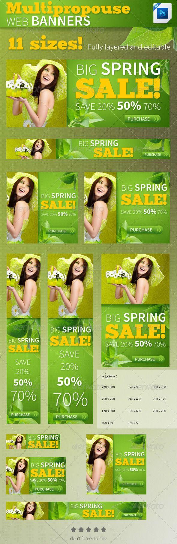 Big Sales WEB Banners