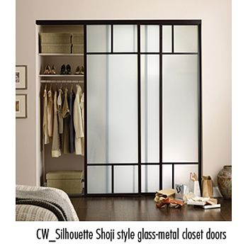 Simple Modern Take On Shoji Screen For Closet Doors Client Norris Residence In 2018 Pinterest And Gl