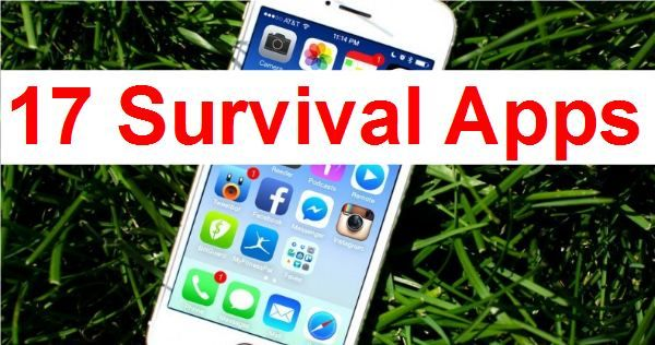 "These days, most of us have smartphones, and this gives us the ability to download apps for just about any purpose. But have you considered what apps might be useful when SHTF? In a truly large-scale disaster, cell phone service might not be available, but many apps can store information and be accessed even without … Continue reading ""17 Apps Every Survivalist Needs"""