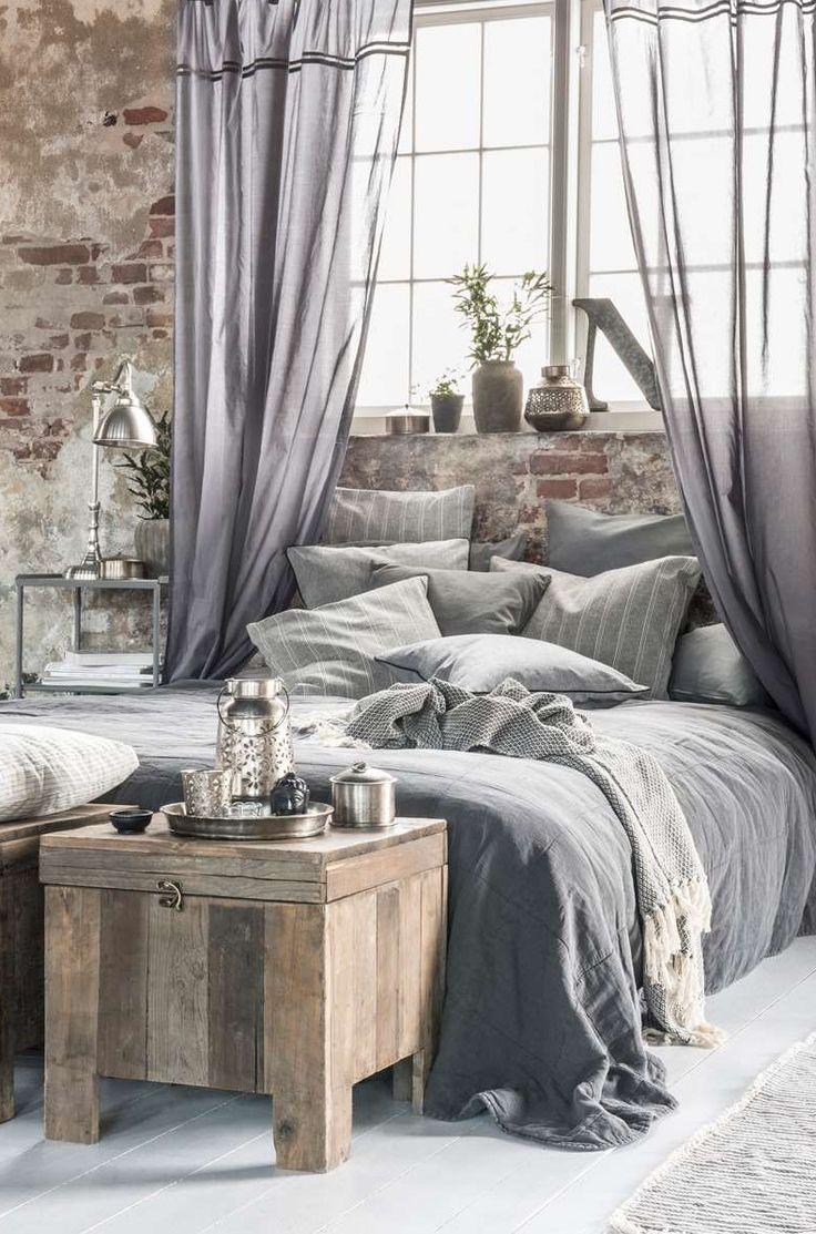 Best 20  Industrial bedroom decor ideas on Pinterest Grey bedroom   industrial but feminine. Industrial Bedroom Ideas. Home Design Ideas