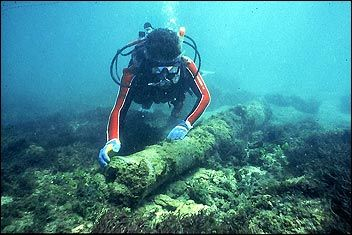 [Photo] The Urca de Lima Underwater Archeological Preserve today.