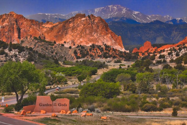 This registered National Natural Landmark, is a public park located south of Castle Rock in Colorado Springs. The towering Garden of the Gods red rock formations were created during a geological upheaval along a natural fault line millions of years ago. With spectacular snowcap views of Pikes Peak as its backdrop, this landmark is a…