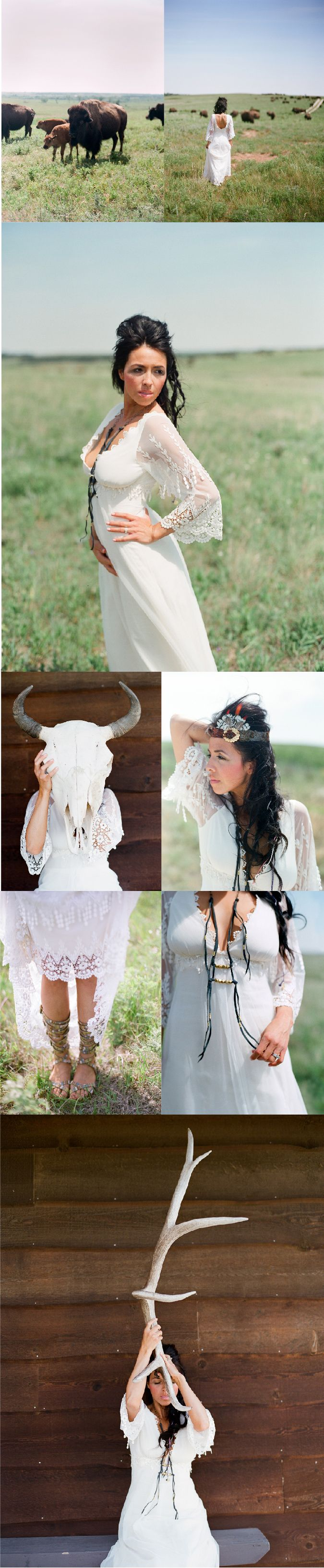 rustic-wedding-ideas-free-people-claire-pettibone-native-american-prairie-style-shoot-Photo-by-Chelsea-Mitchell-4 #photography