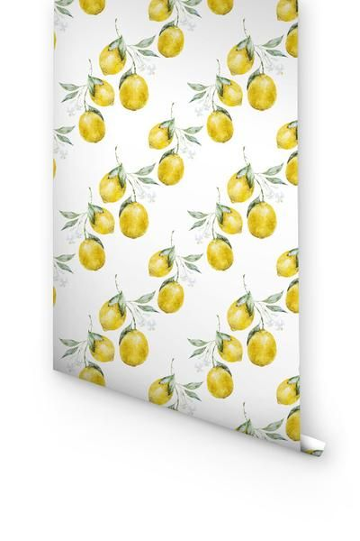 LEMON SELF-ADHESIVE WALLPAPER- A TESTIMONY TO THE POWER OF FRUITS TO CREATE A MAGIC THE WALLS