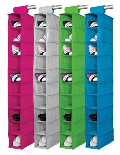 Shelves, Shoes organizer and Colors on Pinterest