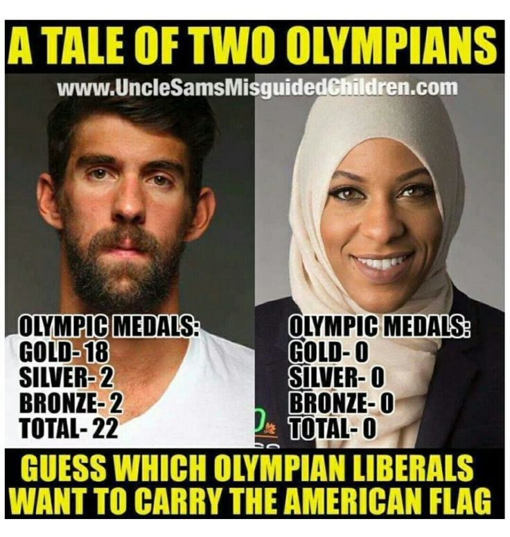 So brazen! No Olympic accomplishments!  She demanded that she carry the flag because of her religion & gender