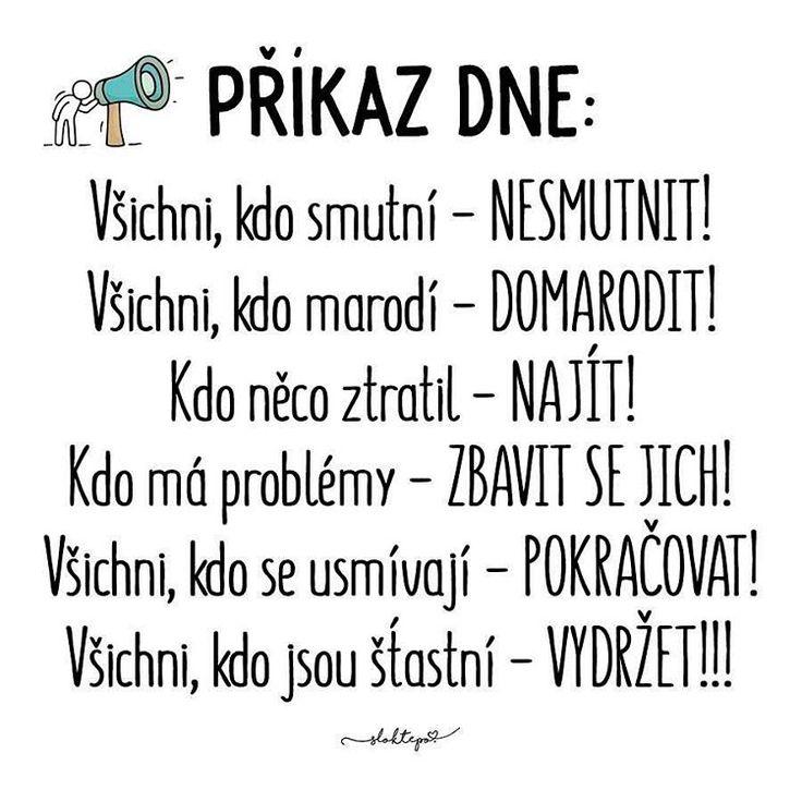 Dosmutnit, domarodit, najít se, problémy hodit za hlavu, usmívat se, být šťasný... Přejeme všem krásný pátek☕️#sloktepo #motivacni #hrnky #domov #patek #štěstí #czechgirl #czechboy #czech #praha #laska #inspirace