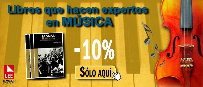 10% de descuento en TODA la categoría Música y Danza