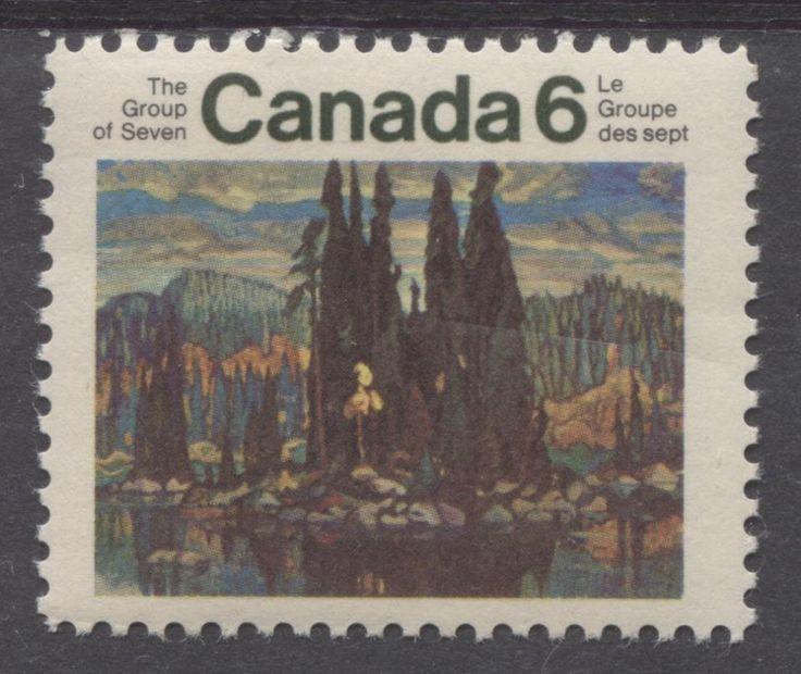 Canada #518 1970 6c Multicolored Group Of Seven VF 75/80 NH MF
