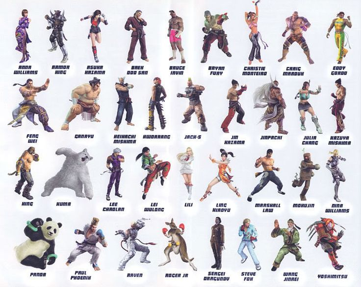 94 best images about Tekken on Pinterest