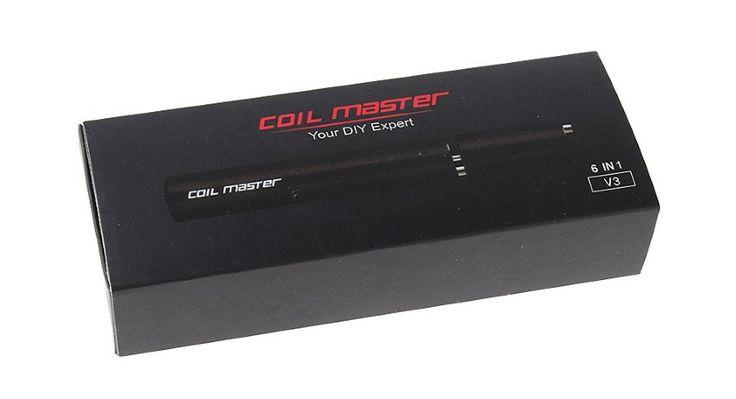 Coil Master V3 6-in-1 E-Zigaretten Wire Coil Wickelhilfe | My-eLiquid E-Zigaretten Shop | München Sendling