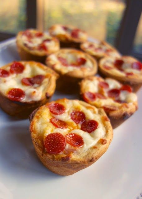 Italian Deep Dish Pizza Cupcakes - Best Recipes for Dinner - easy recipe