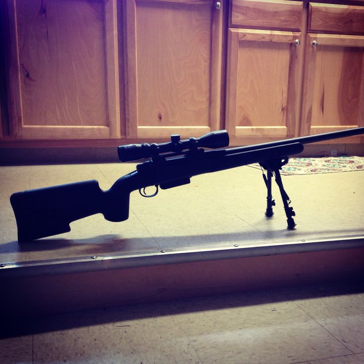 This happened today! Remington 700 SPS with a bull barrel and choate stock! And it's all mine!!