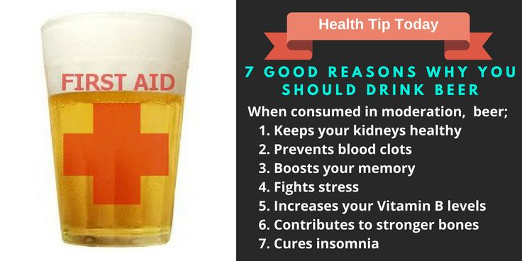 7 Good Reasons Why You Should Drink Beer