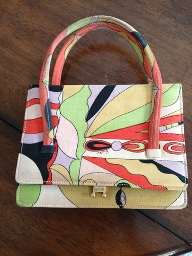 Emilio Pucci Purse Hand Bag