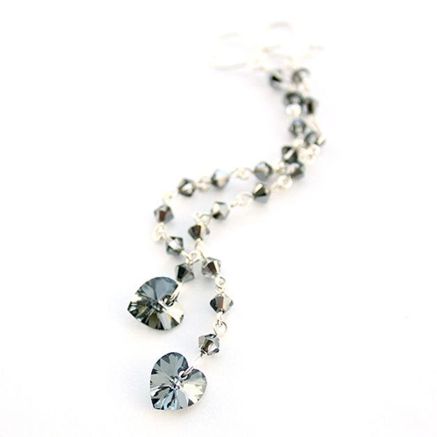 Swarovski Silver Night Crystals.
