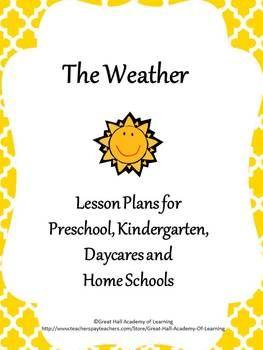 100 best images about Preschool - weather on Pinterest | Preschool ...