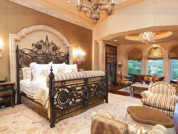 Luxury Master Bedrooms in Mansions | ... Johnson mansion for sale The Woodlands Spring June 2013 master bedroomSagine☀️