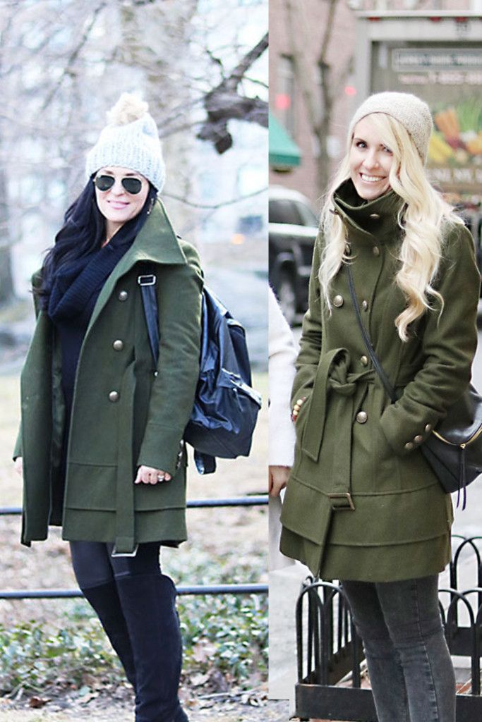 This Way That Way: Olive Green Winter Coat | How We Styled it- Darling Darleen | A Lifestyle Design Blog
