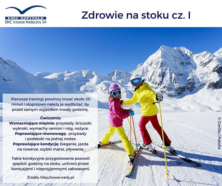 Jak przygotować się do białego szaleństwa na stoku? Trening przede wszystkim! #narty #snowboard #zima #stok #jazda #snieg #radosc #ruch #zdrowie #bialeszalenstwo #nastoku #zdrowie #trening #sport #emc #emcszpitale