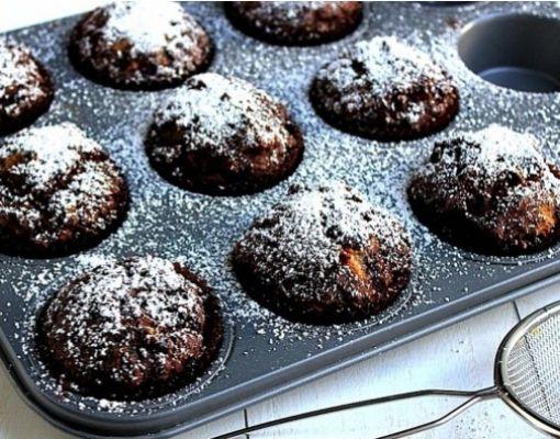 Muzlu Çikolatalı Muffin- ya pı la cak.