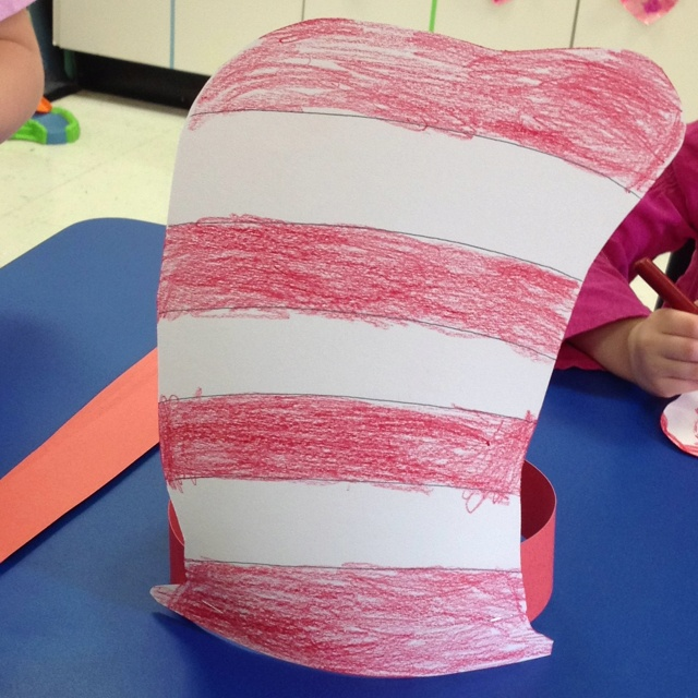 Cat and the hat craft | Kid Crafts | Pinterest | Hat Crafts, Hats and ...