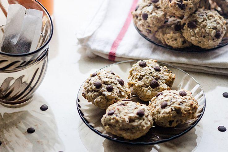 Banana oatmeal cookies | Banánové cookies s vločkami « Tina
