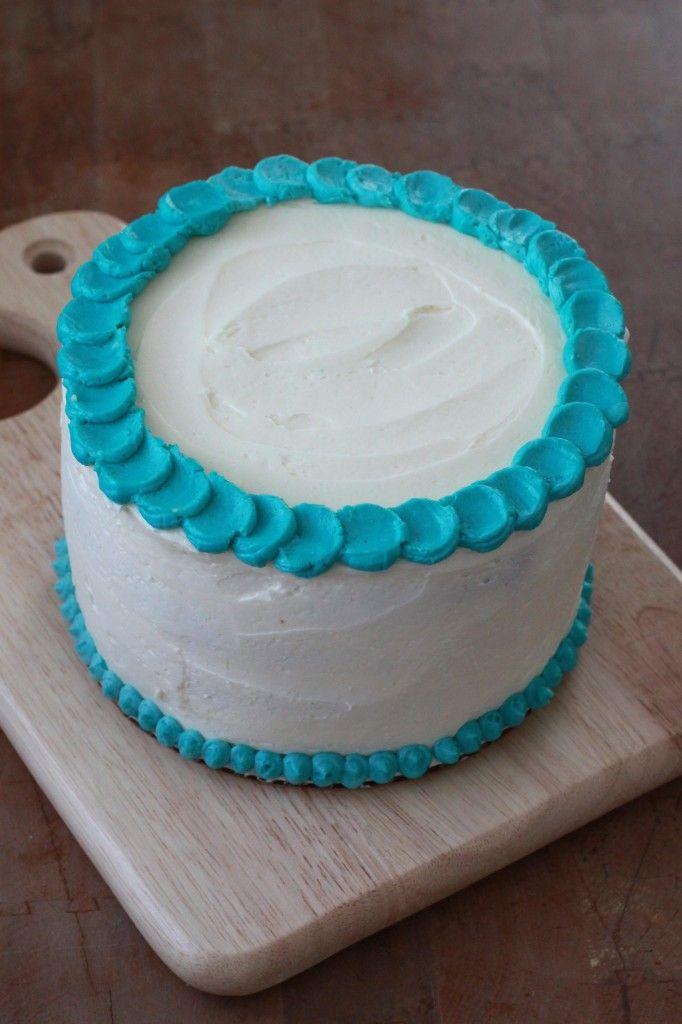 """""""Healthier"""" cake smash cake recipe"""