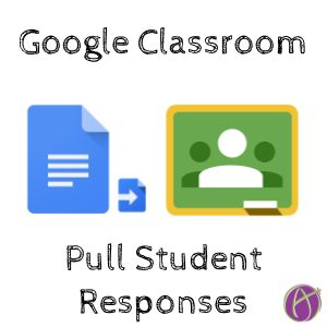 Google Classroom: Pull Student Paragraphs and Give Feedback