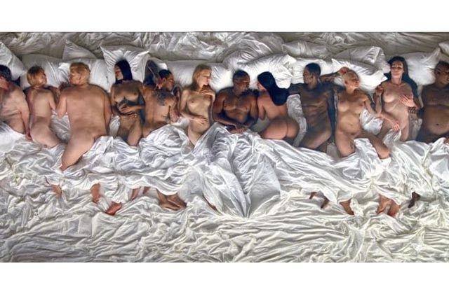Kanye West a sorti le clip de son single Famous, et Lafastod en reste coite. Pour cause : c'est une brochette de stars à oilp plus vraies que nature...
