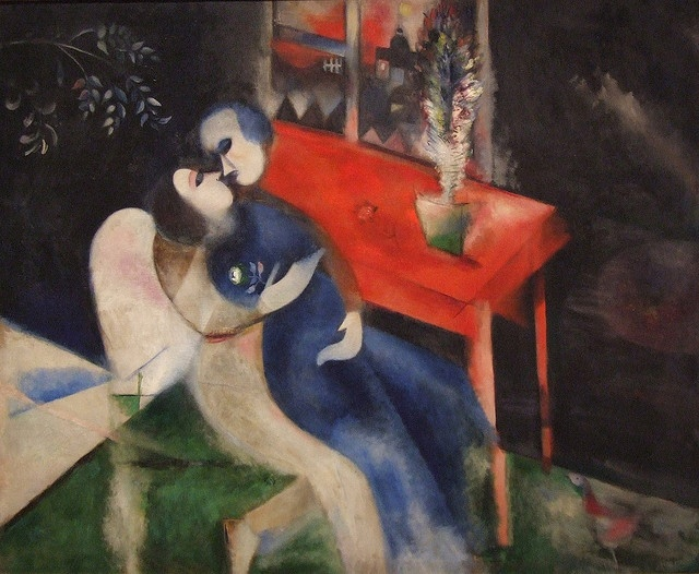 The Lovers, by Marc Chagall