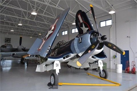 1945 CHANCE VOUGHT FG-1D CORSAIR Piston Military Aircraft ...